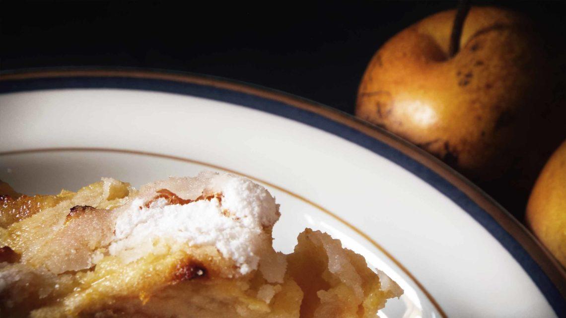 torta di mele al farro