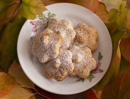 Biscotti fiori di bosco