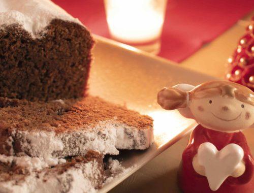 Plumcake al caffè di Natale
