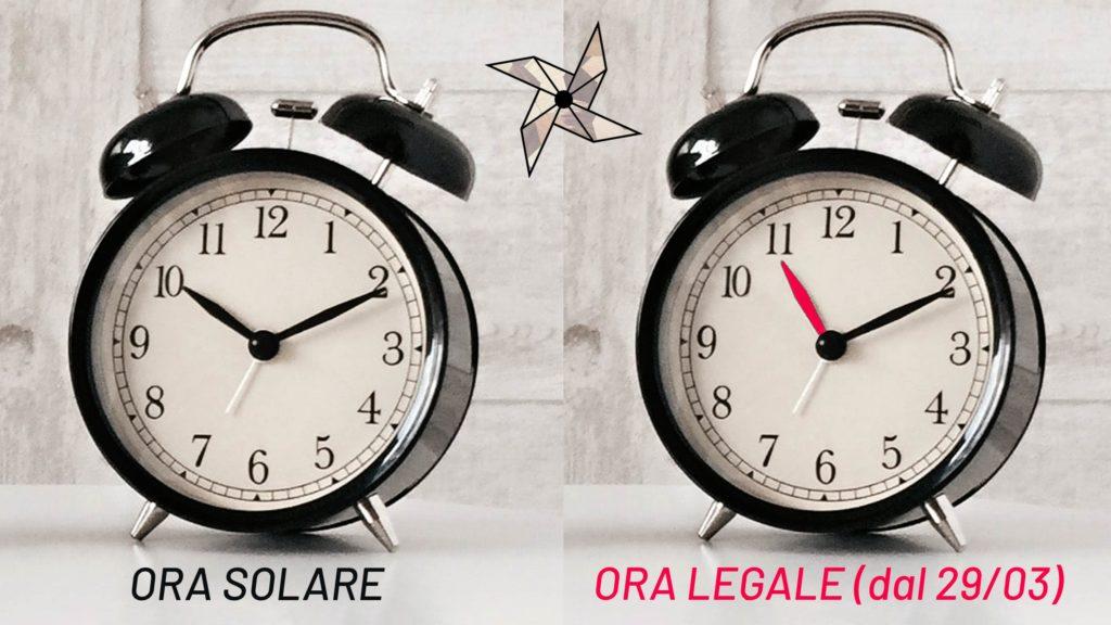 L'ora legale è arrivata: le lancette devono essere spostate avanti di un'ora